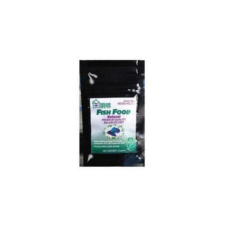 Kordon Home Grown Ponics 96050 Fish Food - Natural 0.5 Mm. 20 Gram Bag - Pack of 72
