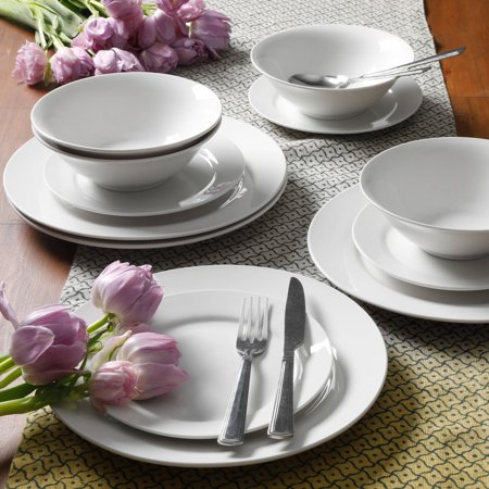 Gibson Home Everyday Round 12-Piece Dinnerware Set