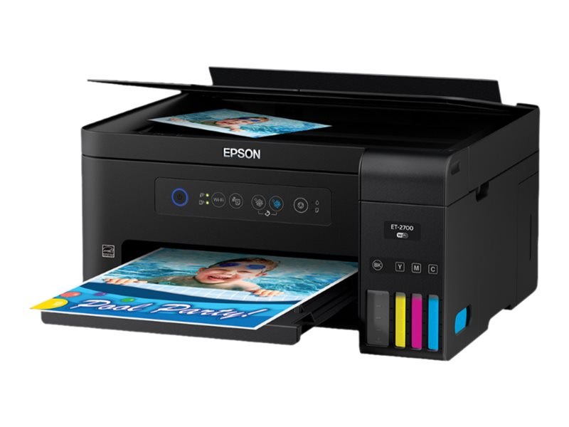 Epson Expression ET-2700 EcoTank Wireless Color All-in-One Supertank Printer with Scanner and Copier by Epson