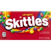 SKITTLES Original Fruity Candy Theater Box, 3.5 oz. Box