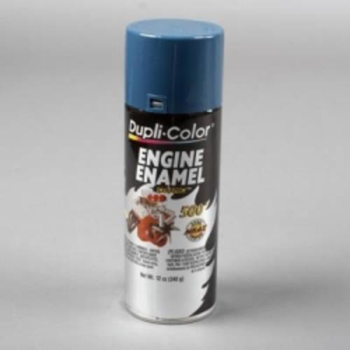 Krylon DE1609 Engine Enamel Paint, Chevrolet Blue, 12 Oz Can, Contains Ceramic Resins