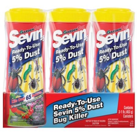 Gulfstream Home Garden (Garden Tech Dust Bug Killer Multiple Insects Carbaryl 3 / Pack, UPC: 613499070135 By Gulfstream )