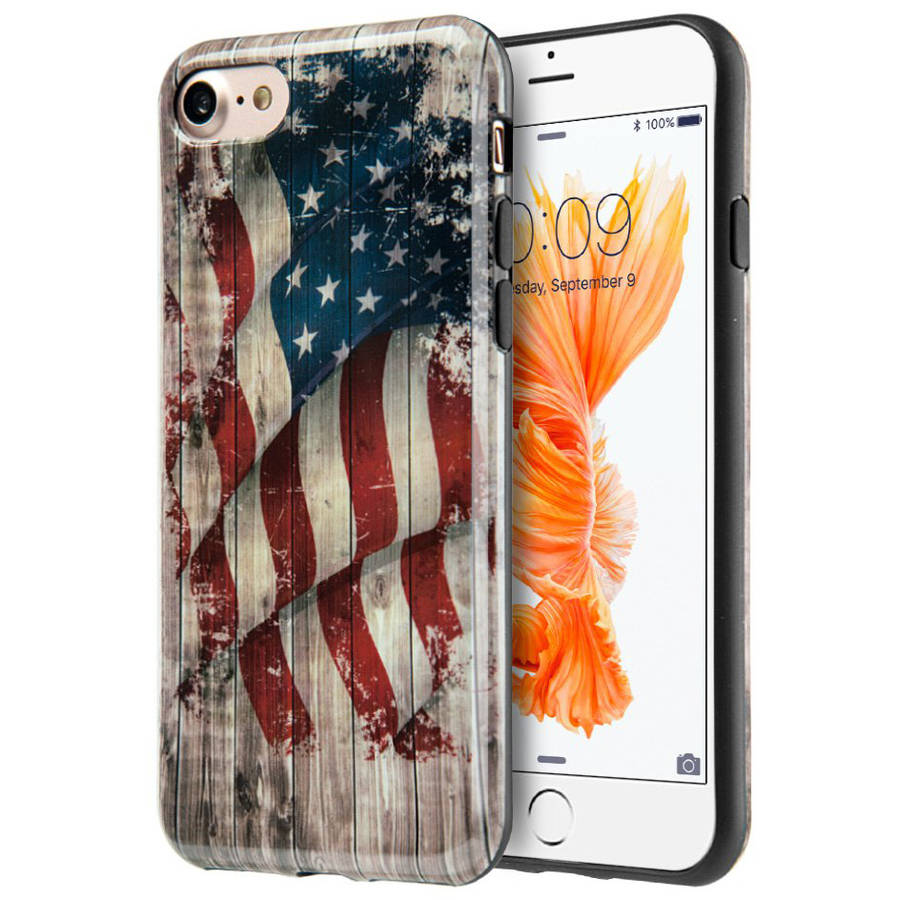 Amzer Patriotic Vintage Flag Series Case for Apple iPhone 7