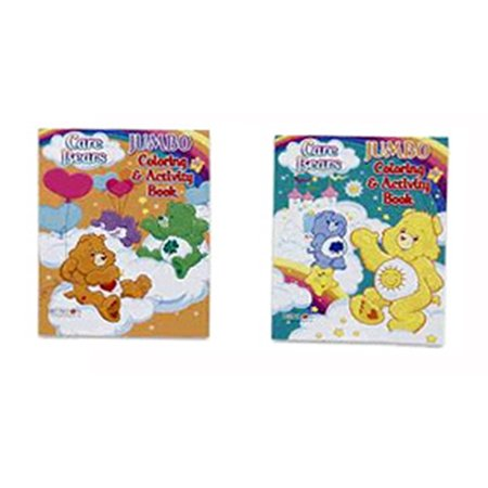 Care Bear Jumbo Coloring And Activity Book Care Bear Coloring Book