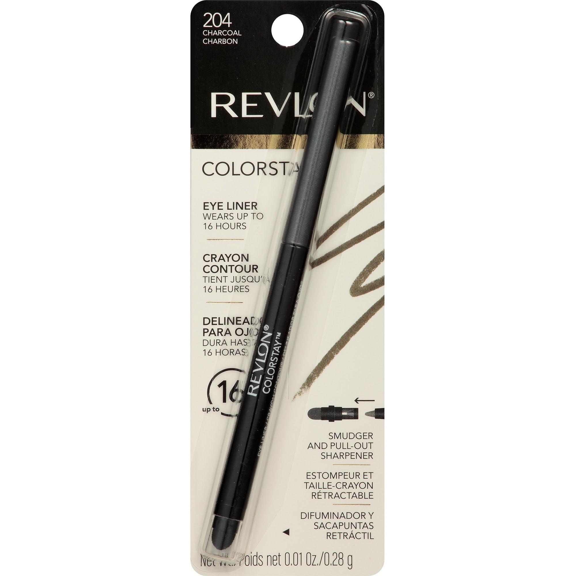 Revlon ColorStay Eyeliner, 204 Charcoal, 0.01 oz