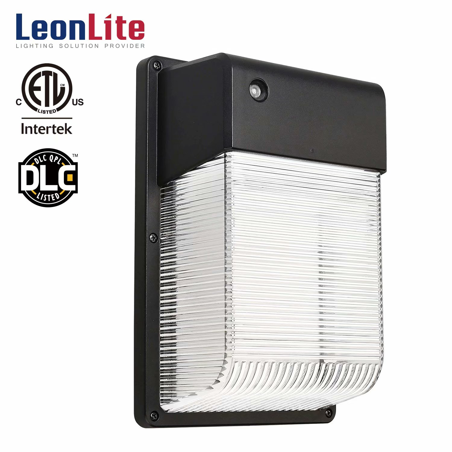 LEONLITE 16W Dusk to Dawn LED Wall Lights, LED Security Lights, Outdoor LED Wall Lighting, 5000K Daylight