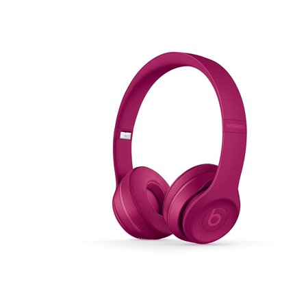 Beats by Dr. Dre Solo3 Bluetooth Wireless On-Ear Headphone with Mic - Brick Red (Certified