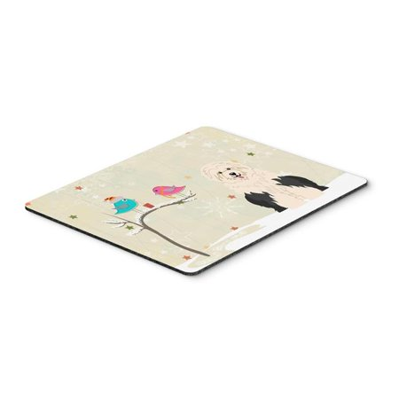 Carolines Treasures BB2568MP Christmas Presents Between Friends Old English Sheepdog Mouse Pad, Hot Pad or Trivet - image 1 of 1