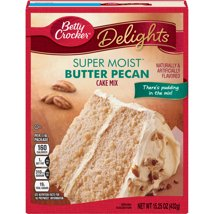Baking Mixes: Betty Crocker Super Moist Delights Butter Pecan Cake Mix