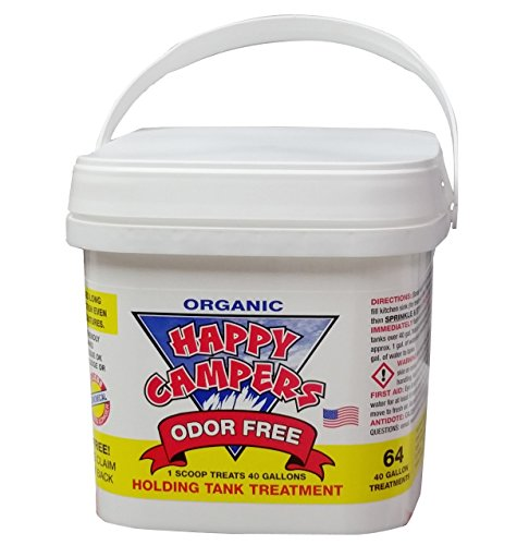 64 Happy Campers Natural RV Holding Tank Cleaner Treatment  - 64 Treatments