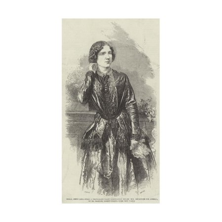 Mademoiselle Jenny Lind Print Wall Art By Henry Anelay ()