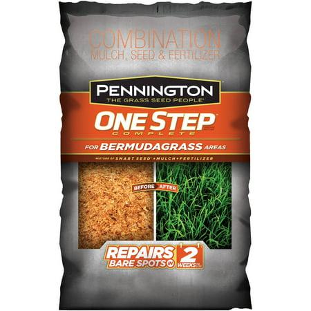Pennington 1-Step Complete Bermudagrass Grass Seed, 8.3 lbs