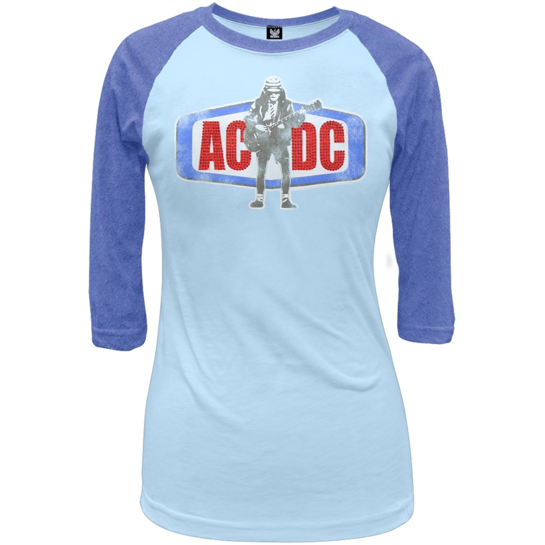 Image of AC/DC - Angus Juniors Raglan