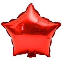 Conpik 10Pcs 5 inch Foil Star Balloon Party Wedding Birthday Home Decoration