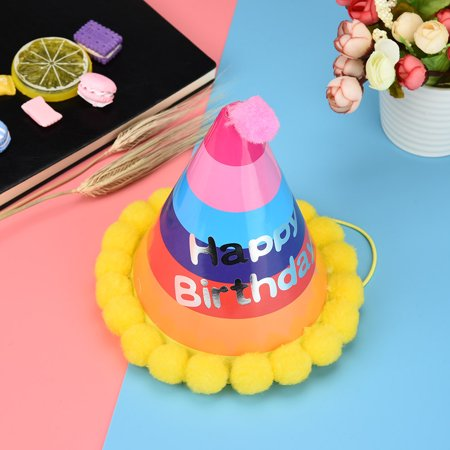 Paper Cone Hats Dress Up Girls Boys My First Birthday Party Xmas Supplies Decor - Birthday Boy Party Ideas