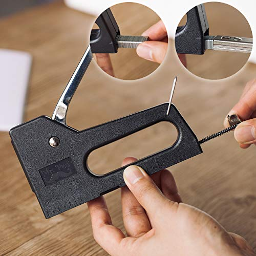 Mr 5//16 Inch 1000//Box Light Duty Staples Staple Fastener 1 Box 8 mm Staples Refill Pen- Staples for Stapler Gun Fine Wire Staples