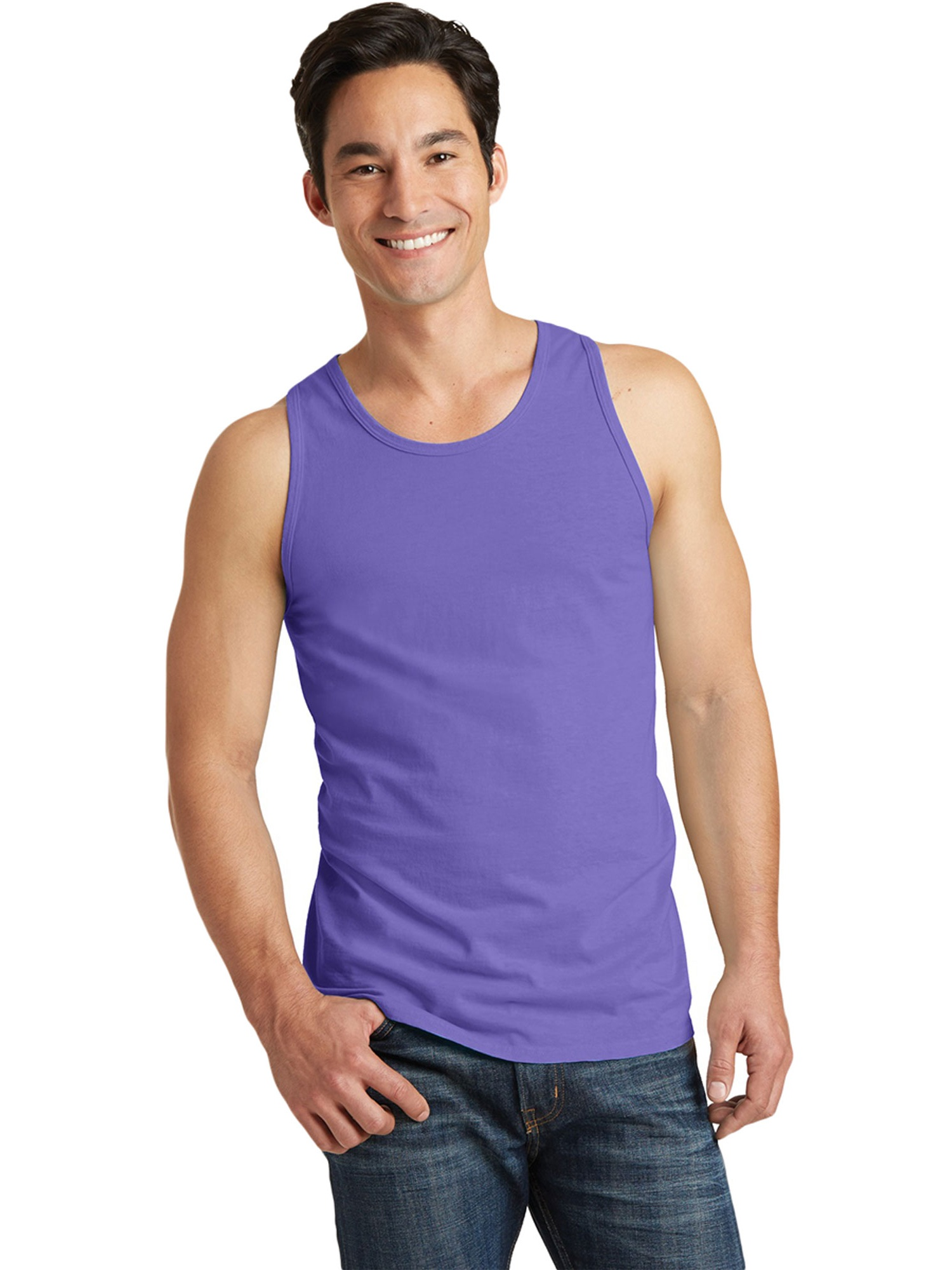 When Pigs Fly Adult Pigment Dye Tank Top