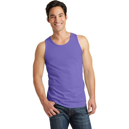 Pewter Apparel (Port & Company Men's Pigment-Dyed Tank Top )
