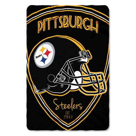 "NFL - Pittsburgh Steelers , ""Shield"" 40""x 60"" Fleece (Pittsburgh Steelers Bank)"