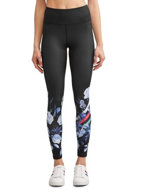 2786775767a689 Product Image Placed Floral Legging Women's (Indigo/Caviar)