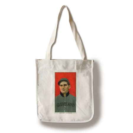 Cleveland Naps - Ted Easterly - Baseball Card (100% Cotton Tote Bag - (Tkd Bag)
