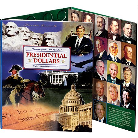 Littleton Presidential Dollar Series P&D Collection Color Folder 2007-2016