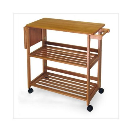 Winsome Foldable Kitchen Cart