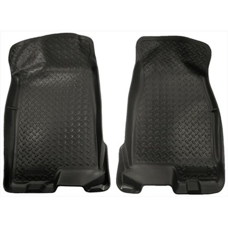 Husky Liner 32511 Classic Style Series Thermoplastic Elastomer Black Front Floor Liners - image 2 of 2