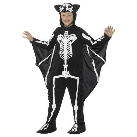 Bat Skeleton Child Costume - Medium](Kids Bat Costumes)