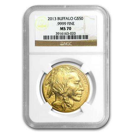 Platinum Ngc Coin Set - 2013 1 oz Gold Buffalo MS-70 NGC