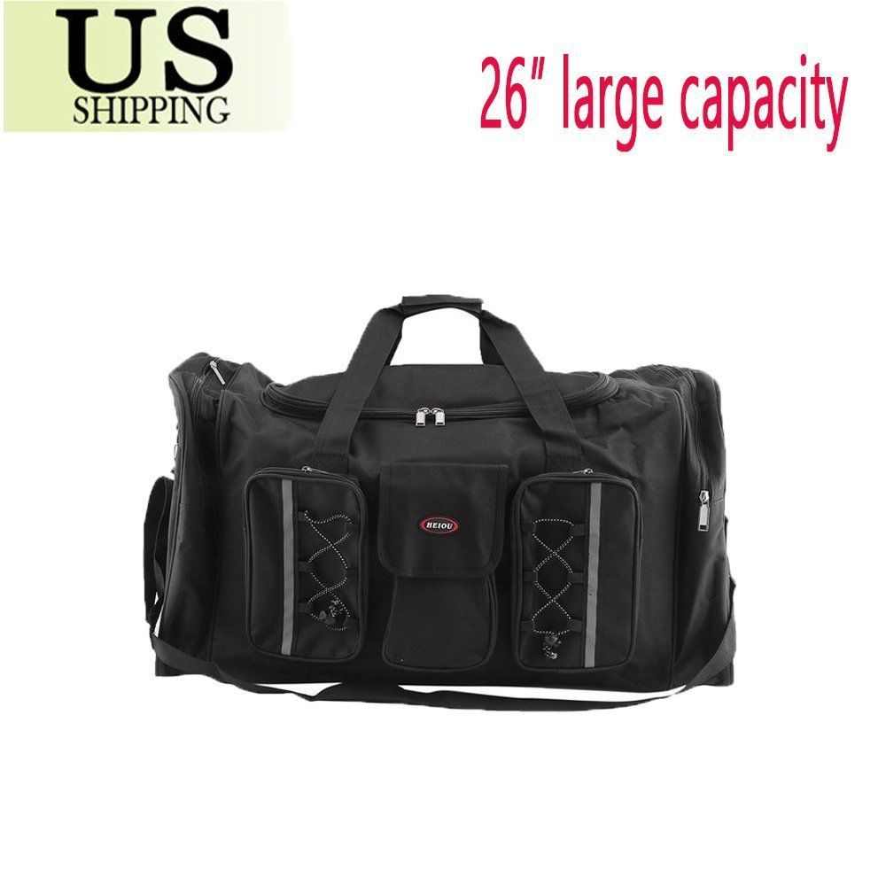 Waterproof Duffel Bag Tote Travel Gym Sport Bag Carry Shoulder Large Capacity by