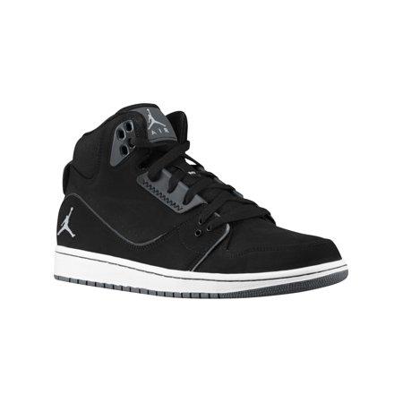 wholesale price on feet at 100% genuine Jordan 1 Flight 2 Men's Basketball Shoes Black/Wolf Grey/Anthracite