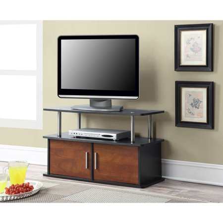 Convenience Concepts Designs2Go Deluxe 2-Door TV Stand with Cabinets for TVs up to 36