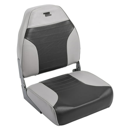 Wise 8WD588PLS-664 Standard High Back Boat Seat, Grey / - Wise Pilot Boat Chair