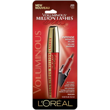 2bc5bd89be8 L'Oreal Paris Voluminous Million Lashes Excess Washable Mascara -  Walmart.com