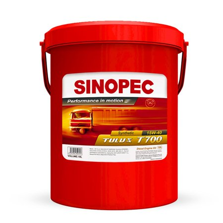 15W40 Synthetic Diesel Engine Oil - 5 Gallon / 18