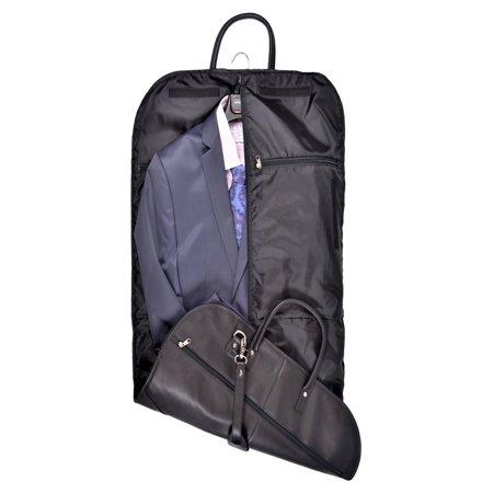 Royce Leather Garment Travel Bag Luggage in Vegan Leather