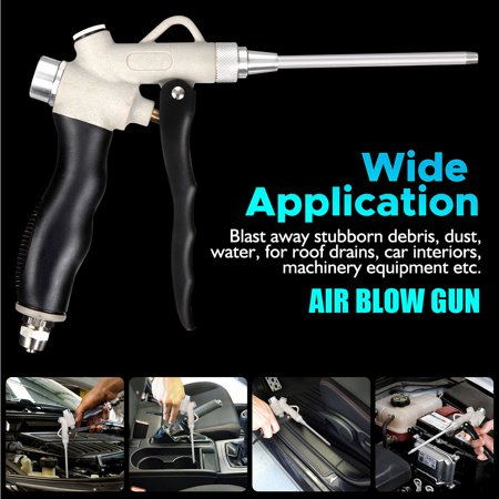 Professional Car Exhaust Machine Aluminum Alloy Vehicle Cleaning And Dusting Air Blow Gun (Blow Molding Machine)