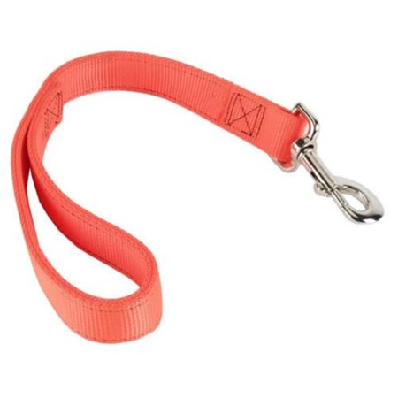 Double-Ply Dog Traffic Leash - Orange, Remington Dog Leash measures 18 x 1 (measurement in inches By