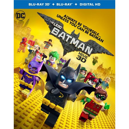 Batman Long Halloween Animated Movie (The Lego Batman Movie (Blu-ray 3D + Blu-ray + DVD + Digital)