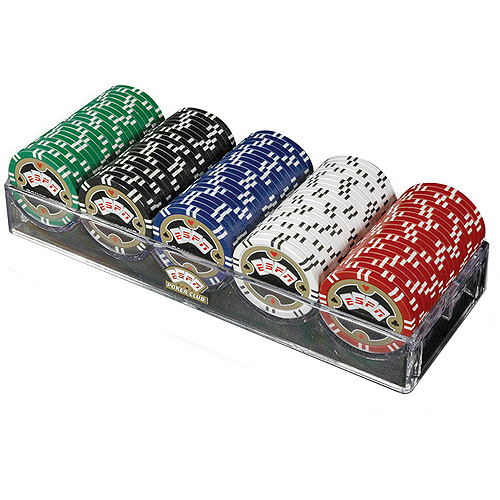 Trademark Poker Espn 100 Assorted 11.5g Championship Edition Poker Chips
