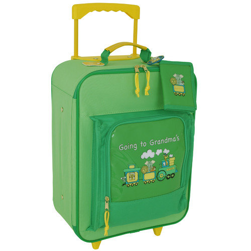 Mercury Luggage Going to Grandma's 15.5'' Children's Rolling Upright Suitcase