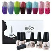 Elite99 Temperature Color Changing Gel Nail Polish Kit 8 Colors, Soak Off UV LED Nail Polish Set Nail Art C042 - Best Reviews Guide