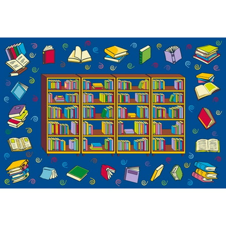 Fun Rugs Reading Time Kids' Rug, -