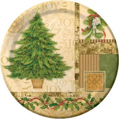 Tree Collage 10-inch Plates , 2PK