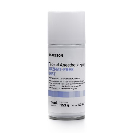 Topical Anesthetic - McKesson Topical Anesthetic Spray  115 mL - 1 Can