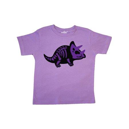 dfea0090 Inktastic - Dinosaur Triceratops Skeleton Toddler T-Shirt - Walmart.com