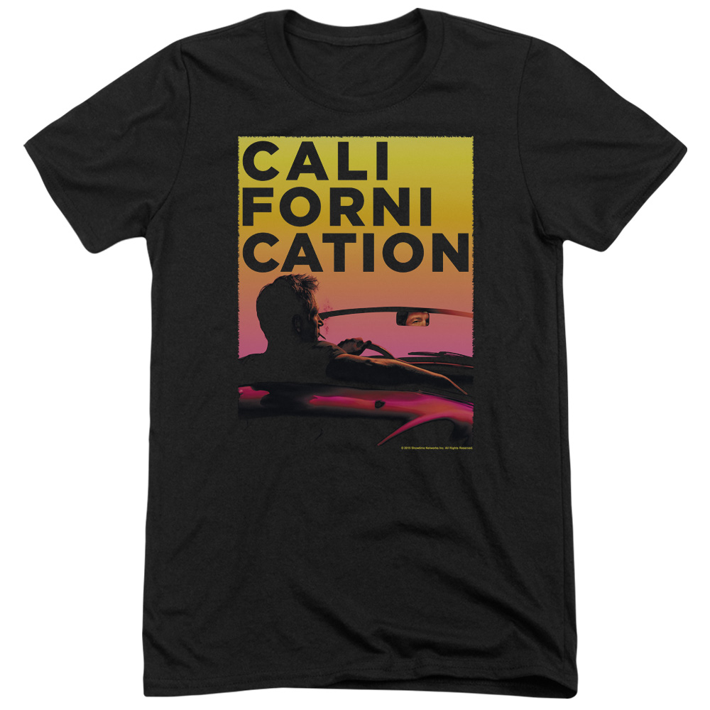 Californication Sunset Ride Mens Tri-Blend Short Sleeve Shirt