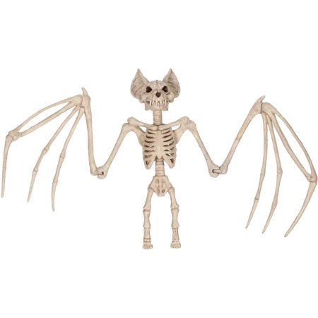 36   Large Skeleton Bat Halloween Decoration