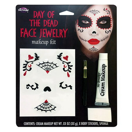 Day of the Dead Make-Up Kit - Day Of The Dead Face Makeup